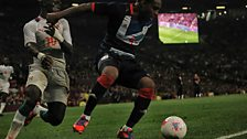 Team GB defender Danny Rose in action against Senegal.