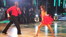Patrick Robinson and Anya Garnis...