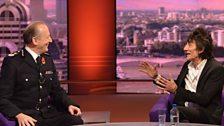 Sir Hugh Orde and Ronnie Wood