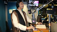 Vinod Patel joins Alpa in the studio