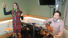 Matt Cardle and Melanie C perform live in session