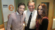 Matt and Mel with Sir Terry