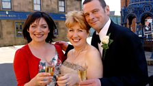 Lorraine Kelly guest stars at Gina and Archie's wedding but happily ever after wasn't guaranteed...