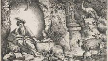 Giovanni Benedetto Castiglione, Circe with the Companions of Odysseus Transformed into Animals, c 1650