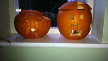 Helen McCarthey's pumpkin