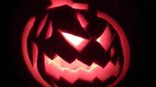 Jonathan Lampon's pumpkin