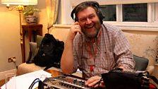 BBC studio engineer Bob Nettles. Photo credit: Jackie Zhang