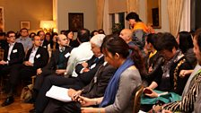 The Forum audience at the Residence of the British Embassy in Beijing, China. Photo credit: Jackie Zhang
