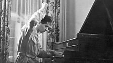 Leonard Bernstein at the Piano, 1936