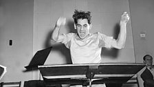 Bernstein conducting in Carnegie Hall, c.1946
