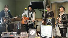 Lawson performing live in session