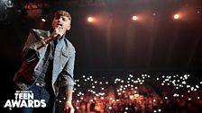 James Arthur at Radio 1's Teen Awards 2013