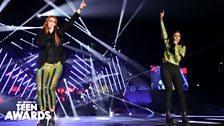 Icona Pop at Radio 1's Teen Awards 2013