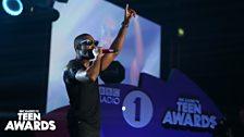 Tinie Tempah at Radio 1's Teen Awards 2013
