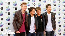 The Red Carpet at Radio 1's Teen Awards 2013