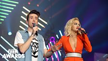 ...oh, it's Nick Grimshaw! Rita doesn't look impressed