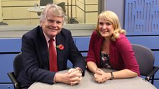 Michael Dobbs and Sarah Walker