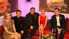 We kicked off the week with Rachel and Pasha, Mark and Iveta...