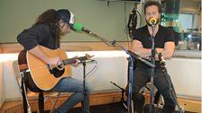 Alfie Boe performs live on Weekend Wogan