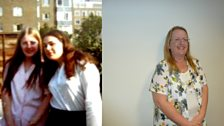 Angela Tomlinson 1973 and now