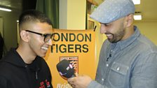 Tommy Sandhu at London Tigers