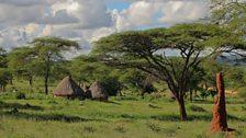 Unnoccupied pastoralists village