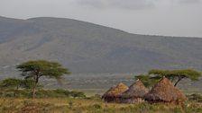 Pastoralists huts