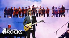 Jeff Lynne & Gareth Malone's Choir at Children In Need Rocks 2013