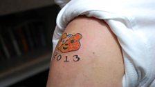 John's finished tattoo