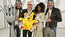 Harry, Sinitta and the Hairy Bikers