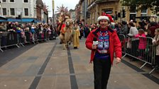 Tony Wadsworth leading the Camels