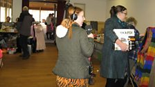 The fifth and final clue was at a jumble sale in Runcton Holme