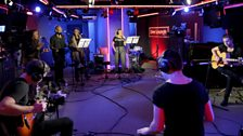 Acoustic vibes in the Live Lounge