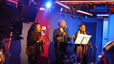The incredible backing vocalists