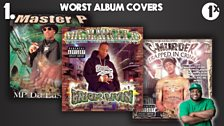 Ace's Top 5: Worst Album Covers / No. 1 - No Limit (all of them!)