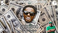Ace's Top 5: Outrageous Purchases / No. 5 - Lil Wayne