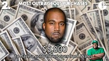 Ace's Top 5: Outrageous Purchases / No. 2 - Kanye West