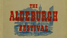 Programme cover for the first Aldeburgh Festival in 1948