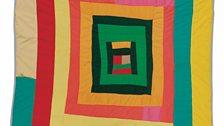 "Minnie Sue Coleman– ""Pig In A Pen"" Medallion, c.1970"