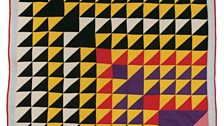 """Lucy T. Pettway – """"Birds In The Air"""" (Quiltmaker's Name), 1981"""