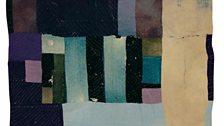 Martha Jane Pettway – Block And Strips Work-Clothes Quilt, c.1940