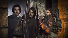 Exclusive pictures from The Musketeers