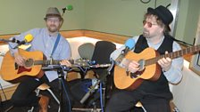 Chas & Dave warming up