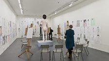 David Shrigley, Life Model 2013 installation view