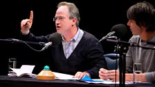 Robin Ince makes his point