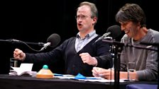 Robin Ince ........ (well, perhaps you can make up your own caption!)
