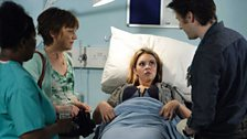 Stacey in hospital