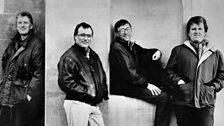 The Hilliard Ensemble 1991: L-R Gordon Jones, John Potter, Rogers Covey-Crump and David James