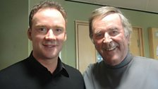 Russell Watson with Sir Terry
