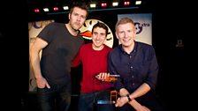 Rhod Gilbert, Patrick Kielty and Steve Bugeja